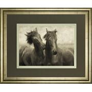 """Horses Don't Whisper"" By Lars Van De Goor Framed Photo Print Wall Art Product Image"