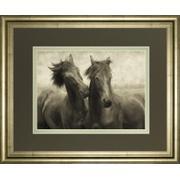 """""""Horses Don't Whisper"""" By Lars Van De Goor Framed Photo Print Wall Art Product Image"""