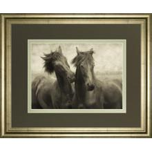 """""""Horses Don't Whisper"""" By Lars Van De Goor Framed Photo Print Wall Art"""