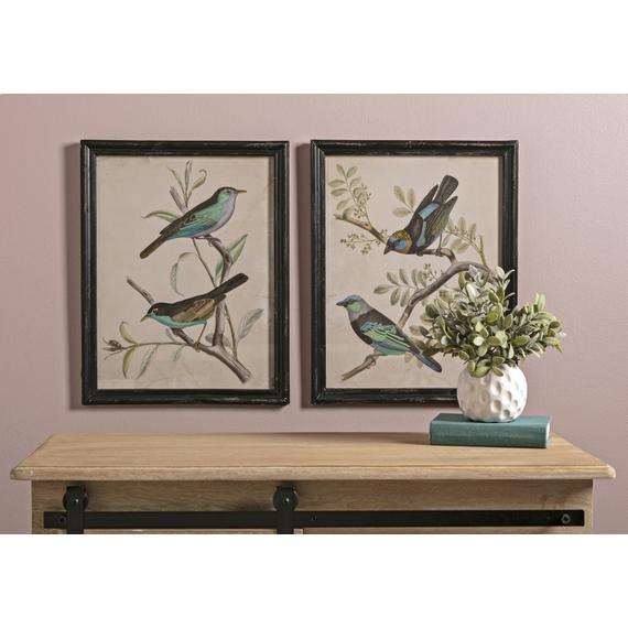 Maisly Bird Wall Decor - Ast 2