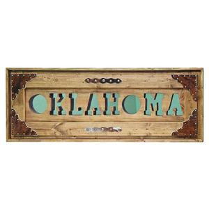 Oklahoma Letter Mirror