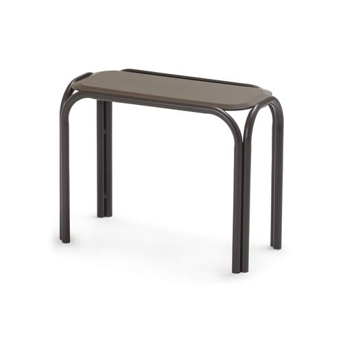 """Telescope Casual Furniture - Marine Grade Polymer Top Table 11"""" x 25"""" Chaise Table"""