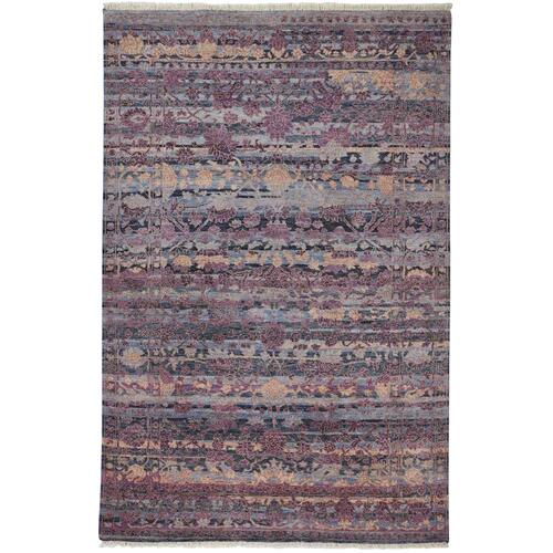 "MARIELL 6702F IN PURPLE/MULTI 5'-6"" x 8'-6"""