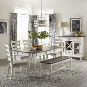 Optional 6 Piece Rectangular Table Set