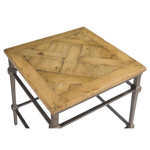 Hunter Parquet Side Table