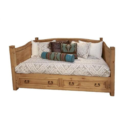 Curved Top Daybed W/2 Drawers