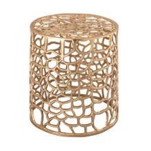 View Product - Sophia Gold Side Table by Inspire Me! Home Decor