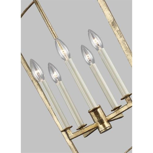 Thayer Large Lantern Polished Nickel