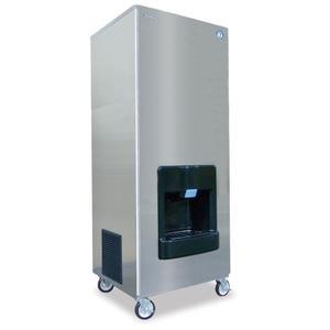 DKM-500BAJ, Crescent Cuber Icemaker, Air-cooled, Built in Storage Bin
