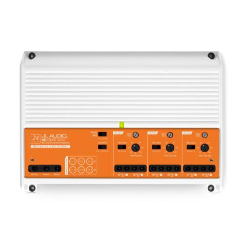 JL Audio - 6 Ch. Class D Full-Range Marine Amplifier, 600 W, for 24V Systems