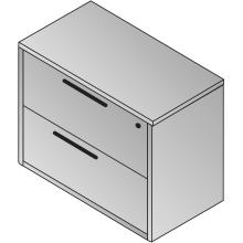 2 Drawer Lateral File 36x23x29