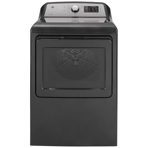 GE® 7.4 Cu. Ft. Capacity Electric Dryer with Sanitize Cycle Diamond Grey - GTD72EBMNDG