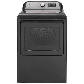 GE™ 7.4 Cu. Ft. Capacity Electric Dryer with Sanitize Cycle Diamond Grey - GTD72EBMNDG