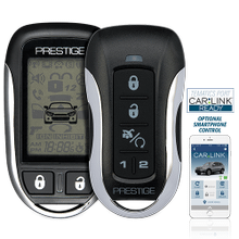 Two-Way LCD Command Confirming Remote Start / Keyless Entry and Security System with up to 1 Mile Operating Range