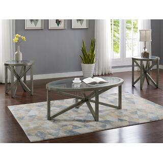 Cole Gray 3 pc. Table Set