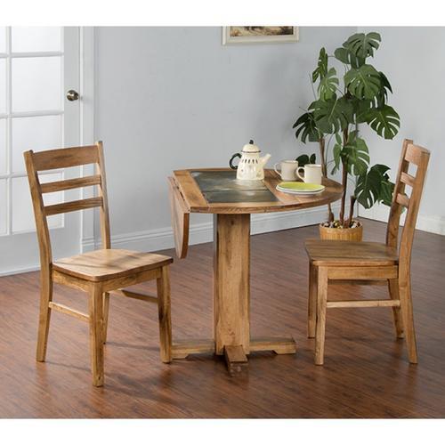 Sunny Designs - Sedona Drop Leaf Table W/ Slate