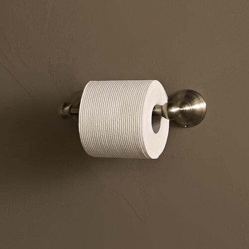 Dxv - Randall 2-Post Toilet Paper Holder - Brushed Nickel