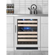 View Product - Vinotemp 24-Inch Panel-Ready Wine Cooler