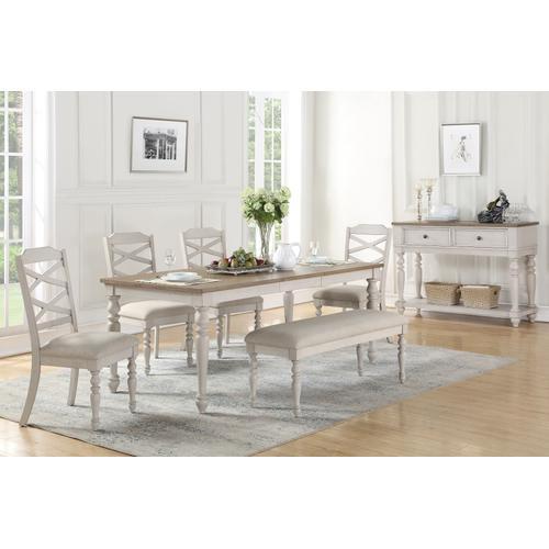 Standard Furniture - Larson Light Bench, White