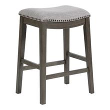 Saddle Stool In Grey