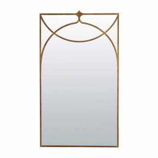 Swan Mirror- Gold