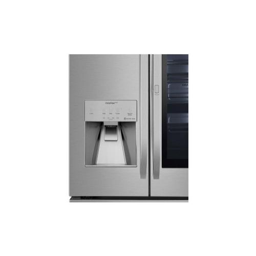 LG STUDIO 24 cu. ft. Smart wi-fi Enabled InstaView™ Door-in-Door® Counter-Depth Refrigerator with Craft Ice™ Maker