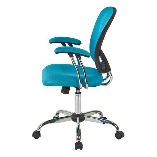 Juliana Task Chair In Blue Mesh
