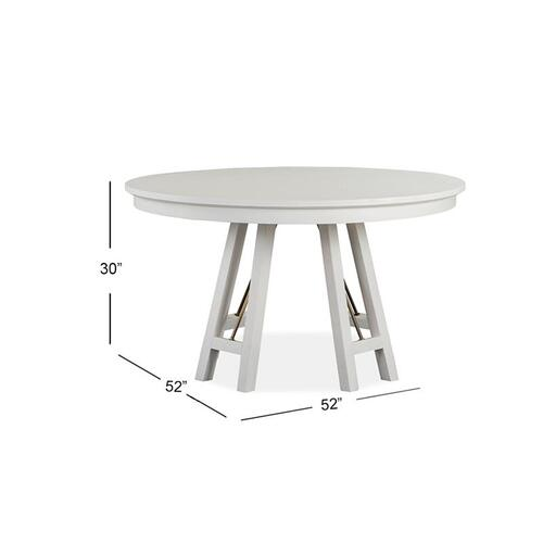 "52"" Round Dining Table"