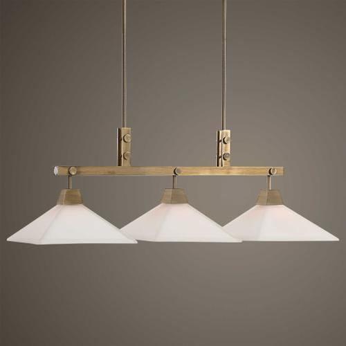 Brookdale, 3 Lt Linear Chandelier