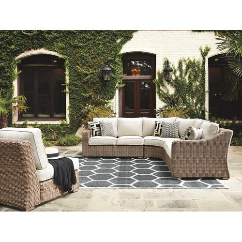 Beachcroft 4-piece Outdoor Seating Set