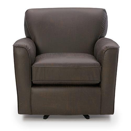 Best Home Furnishings - KAYLEE Swivel Barrel Chair