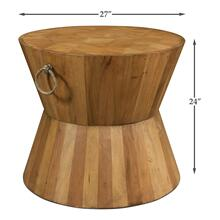Product Image - Hourglass Occasional Table, Driftwood