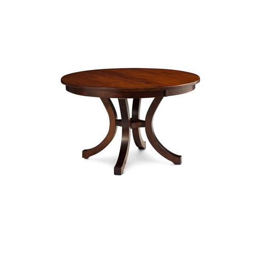 "Loft II Round Table, 48"", 2-Leaves, SATE-60, Soft Maple #28 Bourbon, Loft II Round Table, 48"", 2-Leaves, SATE-60, Soft Maple"