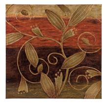 Golden Motif Hand Painted Oil Painting