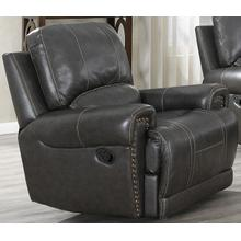 Sussex Leather Glider Recliner
