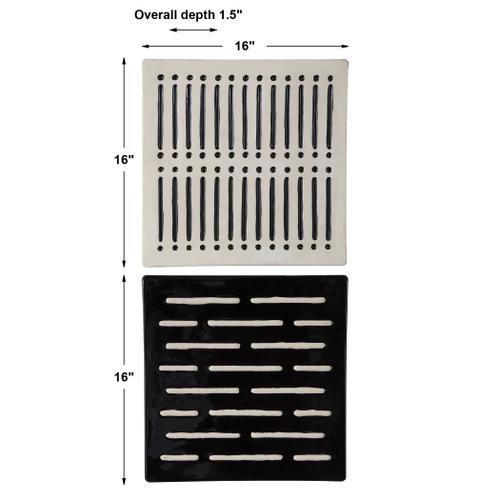 Domino Effect Wall Decor, S/2