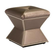 See Details - Faceted Ottoman (Fabric)