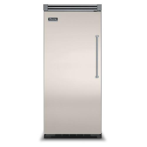 """Viking - Oyster Gray 36"""" Quiet Cool™ All Refrigerator - VIRB Tru-Flush™ (Left Hinge Door)"""