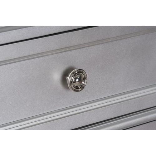 Windsor 7-Drawer Dresser, Silver
