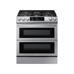 6.3 cu. ft. Flex Duo™ Front Control Slide-in Dual Fuel Range with Smart Dial, Air Fry, and Wi-Fi in Stainless Steel
