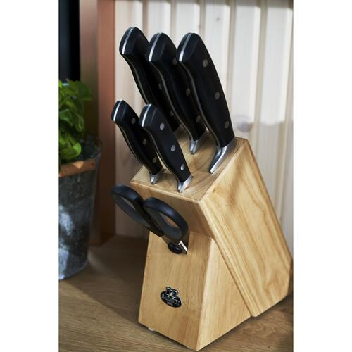 BALLARINI Brenta 7-pc, Knife block set, natural