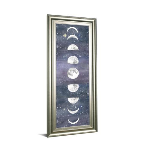 """Moon Chart Il"" By Naomi Mccavitt Framed Print Wall Art"
