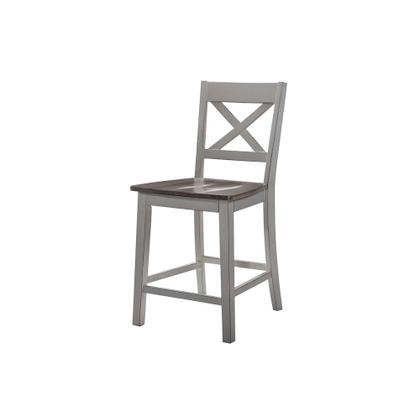 See Details - 5059 A La Carte Gray 2-Pack Counter Height Barstools