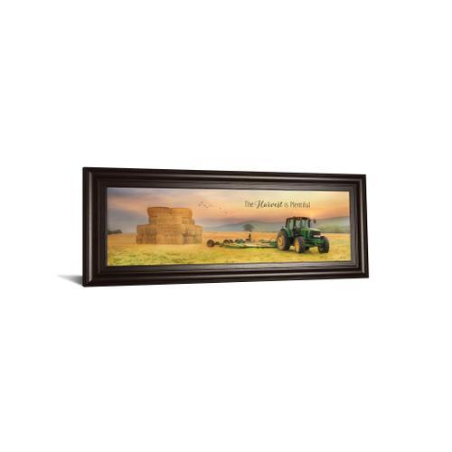 "Classy Art - ""The Harvest Is Plentiful"" By Lori Deiter Framed Print Wall Art"