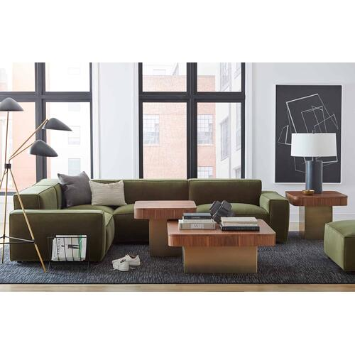 Olafur Upholstered 2-piece Modular Loveseat in Moss by A.R.T. Furniture