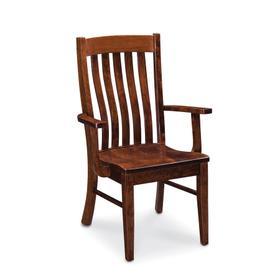 Bradford Arm Chair, Fabric Cushion Seat