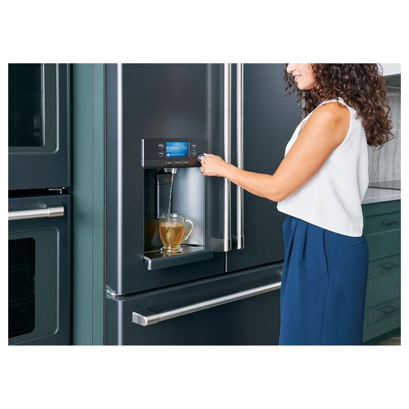 Café ENERGY STAR® 27.8 Cu. Ft. Smart French-Door Refrigerator with Hot Water Dispenser