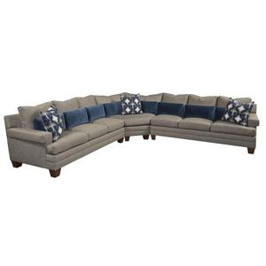 """T/P Square Arm Sectional (7"""")"""