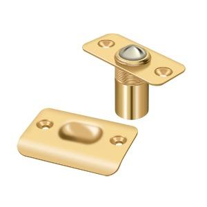 Ball Catch, Round Corners - PVD Polished Brass Product Image