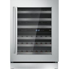 Freedom® Wine cooler with glass door 24'' Professional T24UW910RS